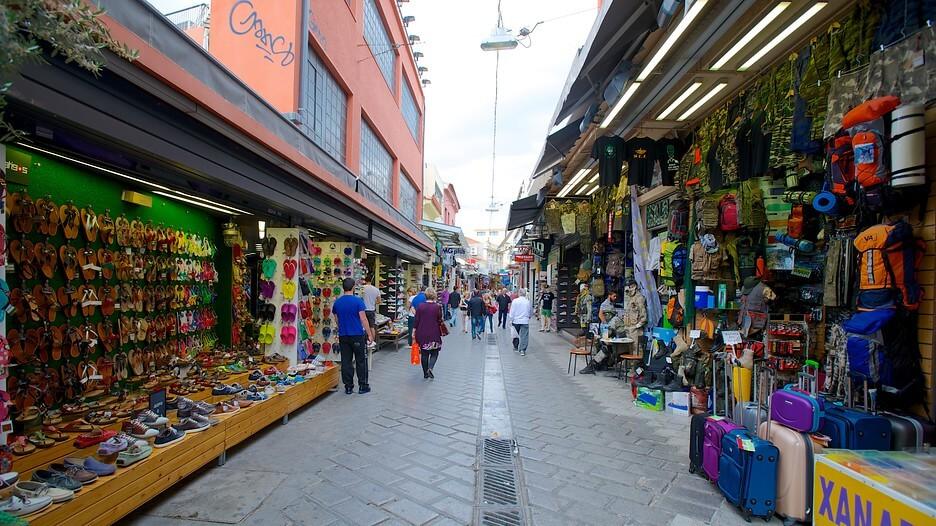 Monastiraki Flea Market Shopping In Athens Travel To
