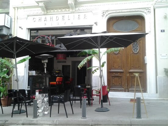 Chandelier | Cafes and Bars in Athens - travel to athens