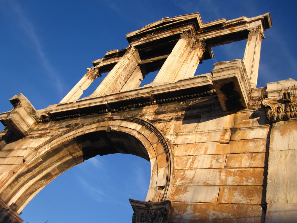 Hadrians Arch  Landmarks in Athens - Travel to Athens
