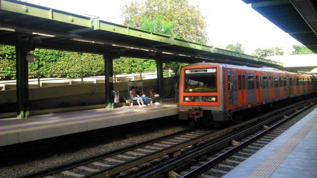 Thisio Metro Station